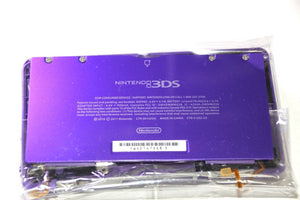 ORIGINAL OEM NINTENDO 3DS CASE REPLACEMENT FULL HOUSING PURPLE  SHELL 3DS