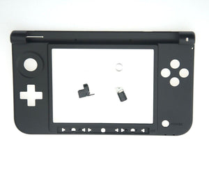 Nintendo 3DS XL Replacement Hinge Part Black Bottom Middle Shell Axle w/Lock