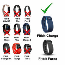 Load image into Gallery viewer, 2 Pack USB Charging Charger Cable Cord for Fitbit Force Band Bracelet Wristband