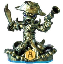 Load image into Gallery viewer, GOLD WASH BUCKLER Metallic Green RARE Variant Skylanders Swap Force Figure
