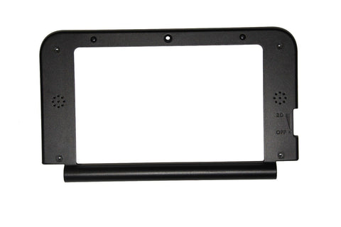 OEM Nintendo 3DS XL Black Replacement Hinge Middle Shell Housing Top Screen