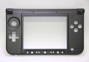 OEM Nintendo 3DS XL Replacement Hinge Part Black Bottom Middle Shell Housing USA