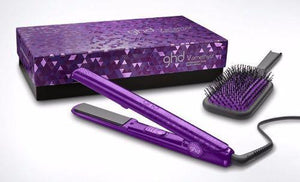 "Ghd Jewel Collection 1"" Styler/Flat Iron Set - Amethyst - LIMITED EDITION - NIB"