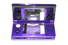 Load image into Gallery viewer, ORIGINAL NINTENDO 3DS CASE REPLACEMENT FULL HOUSING PURPLE SHELL WITH RED DOOR
