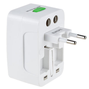 Universal International Travel AC Adapter Power Outlet Plug Converter 110v-220v