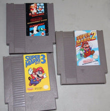 Load image into Gallery viewer, Nintendo NES System Console W/ Super Mario Bros 1, 2, 3  & Duck Hunt Collectible