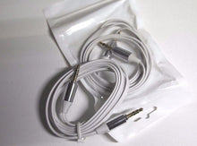 Load image into Gallery viewer, 2X 3.5mm Aux Cable Gold Tips Male To Male Stereo Audio Cable Pc Ipod Mp3 Car