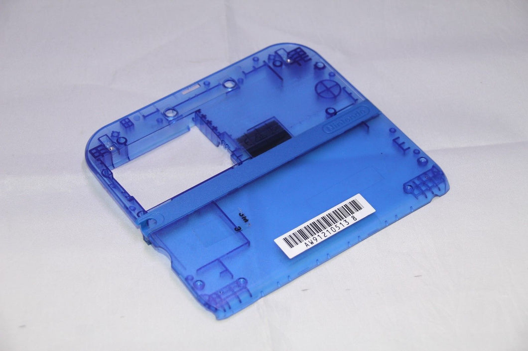 Nintendo 2DS Back Housing Camera Repair Part Blue Crystal Clear Limited Edition