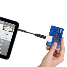 Load image into Gallery viewer, 3.5 mm credit card readers Square Readers and PayPal Here male to female adapter