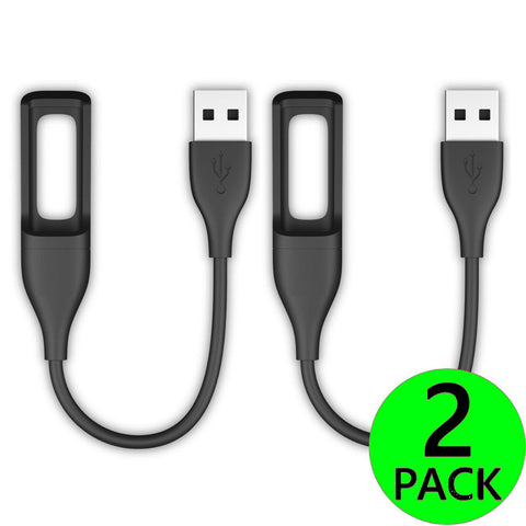 2X Replacement USB Charger for Fitbit Flex Tracker Wristband Charging Cable Cord