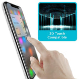 3-Pack 9H Premium for iPhone X, XS, XR, XS Max Tempered Glass Screen Protecto