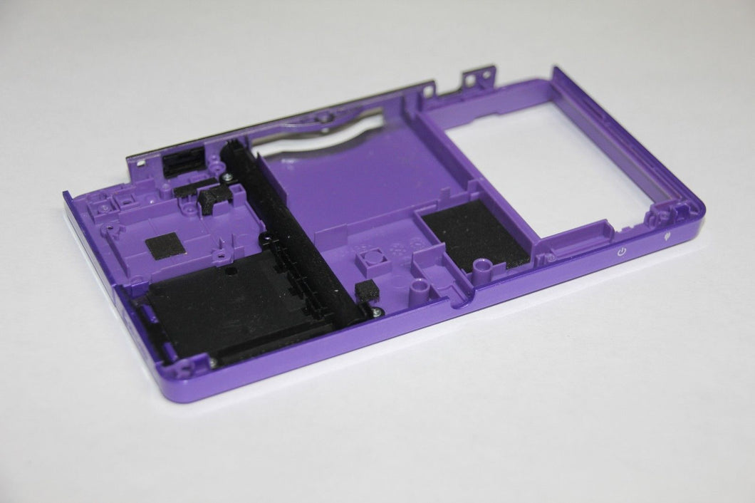 OEM NINTENDO 3DS PURPLE BOTTOM HOUSING SHELL PART, Motherboard Battery Holder