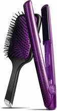 "Load image into Gallery viewer, Ghd Jewel Collection 1"" Styler/Flat Iron Set - Amethyst - LIMITED EDITION - NIB"