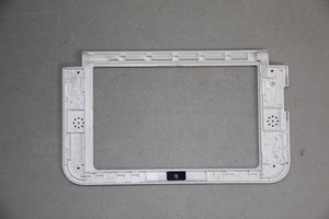 OEM Nintendo 3DS XL White Replacement Hinge Middle Shell Housing Top Screen