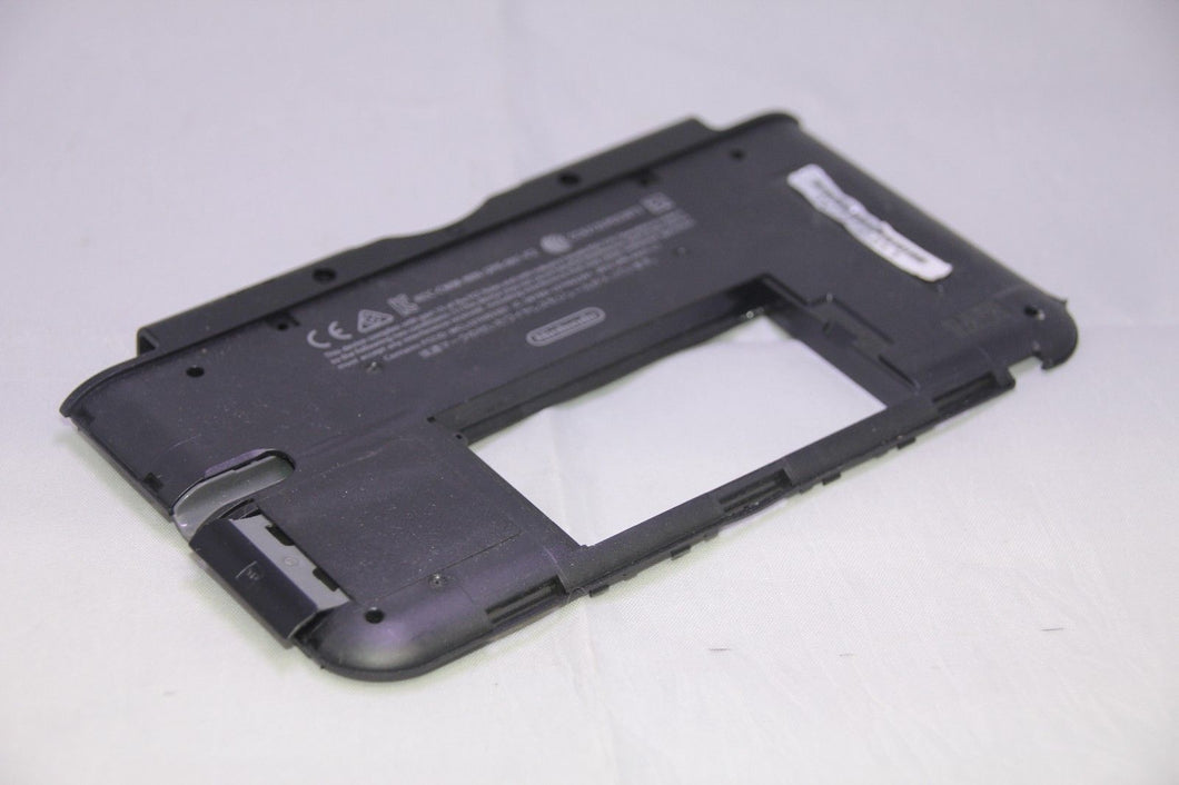 Official Nintendo 3DS XL Housing Bottom Back Inside Shell Part w/ Black SD Door