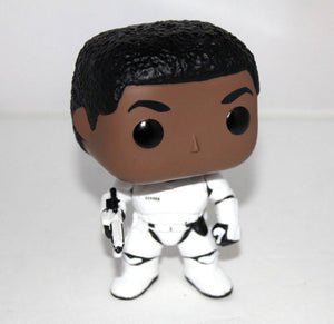 Funko Star Wars Finn Stormtrooper Unmasked Pop Vinyl Exclusive NO BOX OR STAND