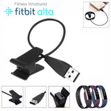 Replacement USB Charger Charging Cable for Fitbit Alta 2-Pack