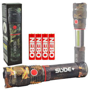 Nebo Slyde+ (Plus) Camo 6618 LED Flashlight Worklight C.O.B. Optimized Clarity