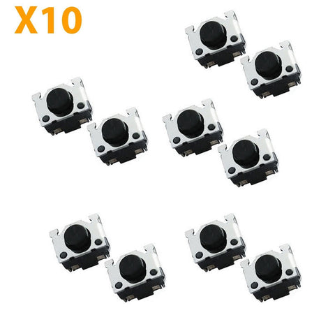 10X Shoulder Trigger Left Right L R Button switch for Nintendo DS DS Lite & 2DS