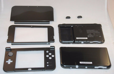 2015 New Version Nintendo 3DS XL LL  Black Housing Parts Original Shell N3DSXL