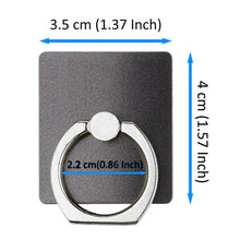 Load image into Gallery viewer, Easy Grip Universal Smartphone Aluminum Ring Phone Holder Finger Loop iPhone