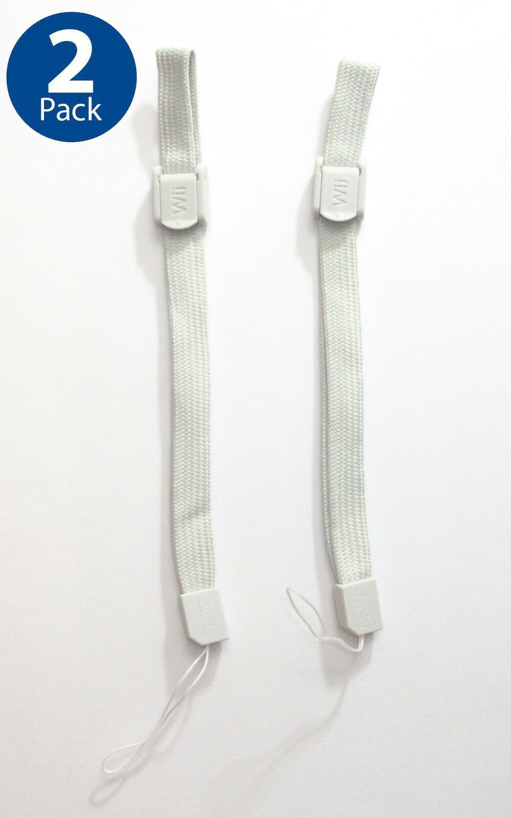 USA SELLER OFFICIAL Wii Wii U Wrist Strap Hand Strap Lanyard GRAY GREY LOT of 2