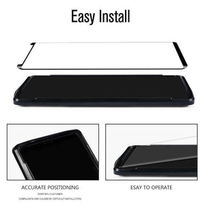 For Samsung Galaxy Note 9 4D【HD Clear】Tempered Glass Screen Protector Clear Full