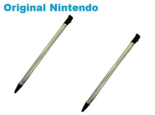 2 x OEM Nintendo 3DS Stylus (Metal Retractable) CTR-004 Bulk  US SELLER