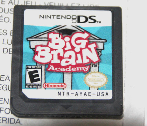 Big Brain Academy (Nintendo DS, 2006) game only ntr-005
