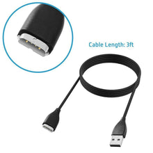 Load image into Gallery viewer, 2 Pack USB Replacement Charging Charger Cable for Fitbit SURGE Super Watch Smart