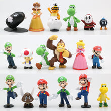 Load image into Gallery viewer, 18pcs Super Mario Bros Action Figure Doll Figurine Toy Model Doll Gift US Seller