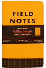Utility Graph Limited Edition Memo Book