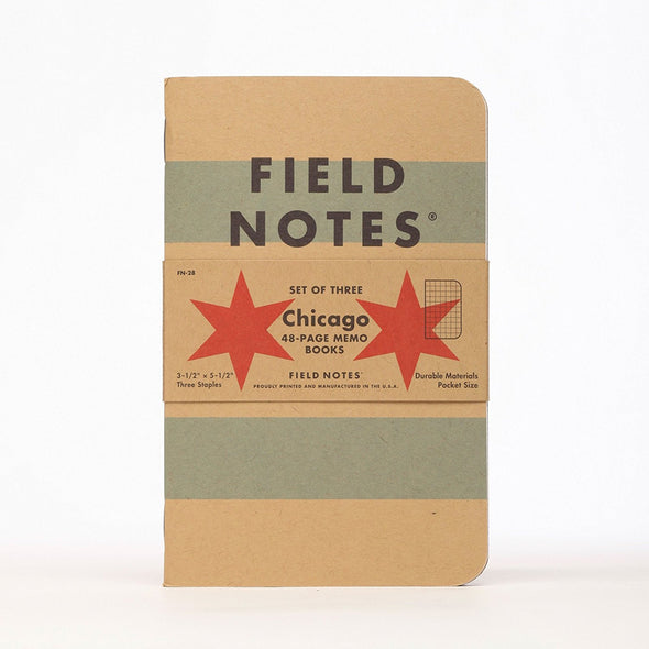 Chicago Limited Edition Memo Book