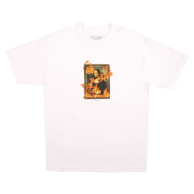 Burn T-Shirt White