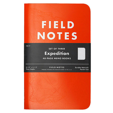 Expedition Limited Edition Memo Book