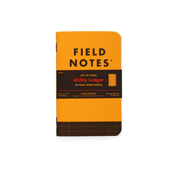 Utility Ledger Limited Edition Memo Book