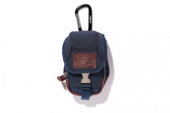 Masterpiece x Stussy Deluxe Field Over Pouch Navy