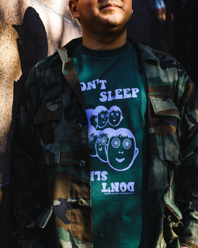 Don't Sleep Release Face T-Shirt