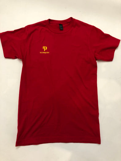 Minimalist T-Shirt Red/Yellow