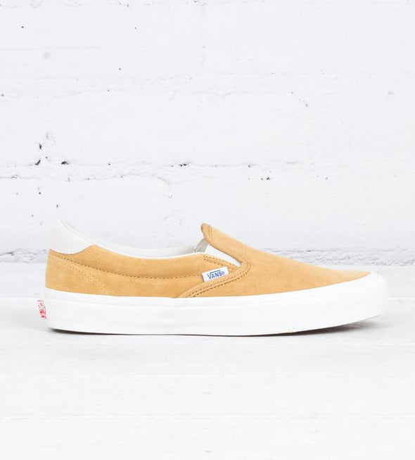 Vans OG Classic Slip-On 59 LX (Yellow Suede)