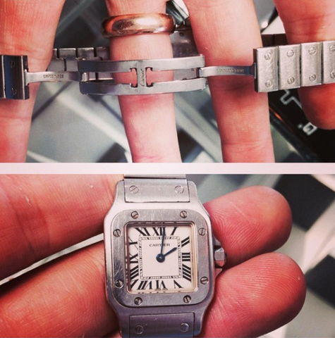 Cartier Santos Watch Repair Specialist Campbell Jewellers Dublin