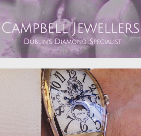 Franck Muller Swiss Watch Repair Specialist Campbell Jewellers Dublin