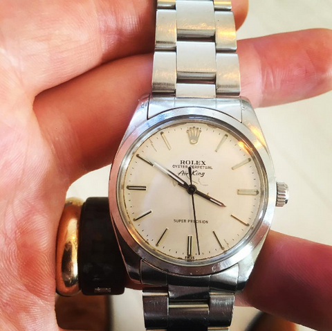 Rolex Air King Watch Repair Specialist Campbell Jewellers Dublin