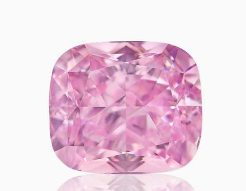 Campbell Jewellers 1.08ct Fancy Intense Purplish Pink Cushion Shape GIA Certified Diamond