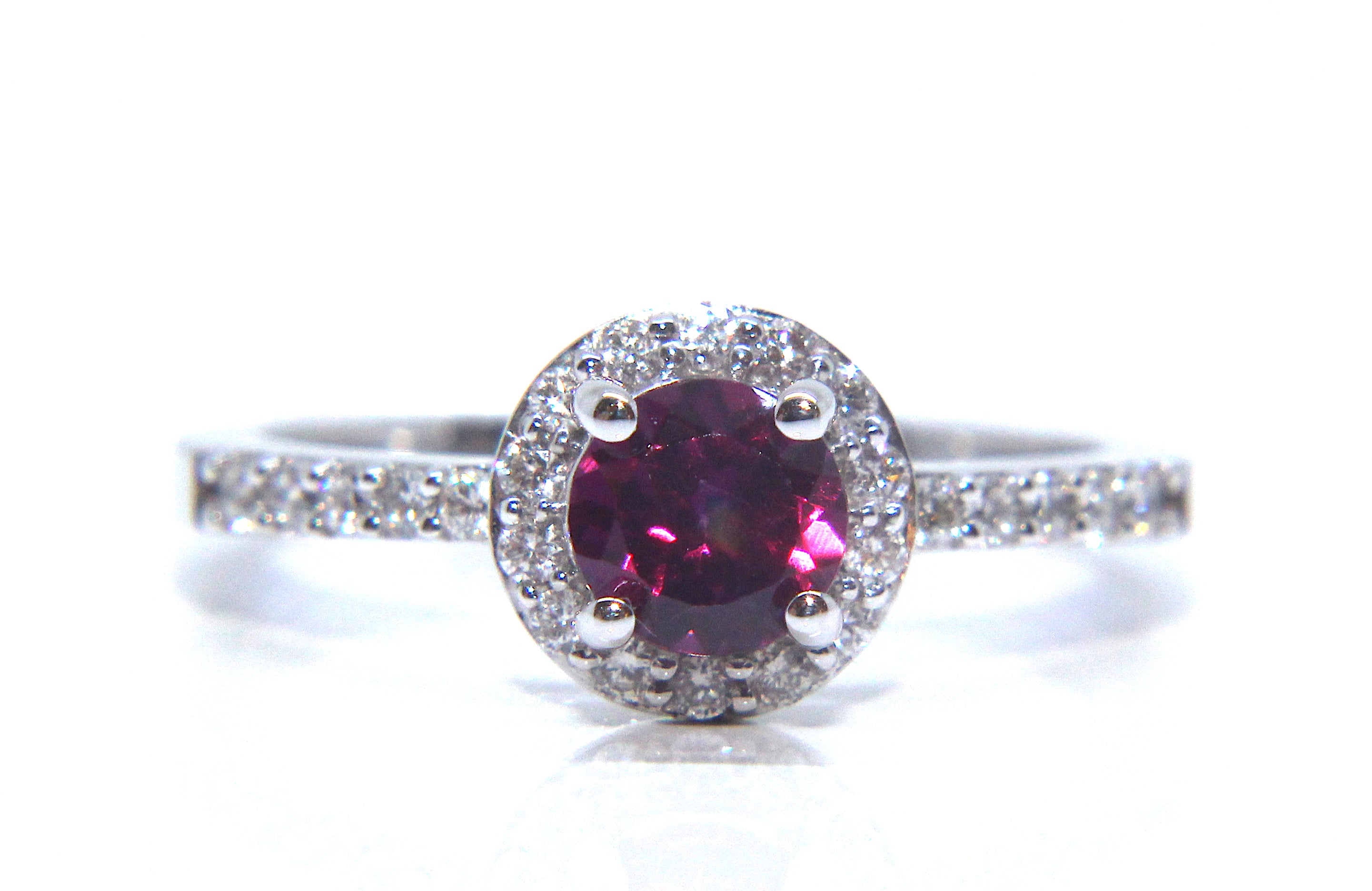 le ring strawberry gold chocolate diamonds with raspberry garnet tw and in rings rhodolite vian engagement vanilla
