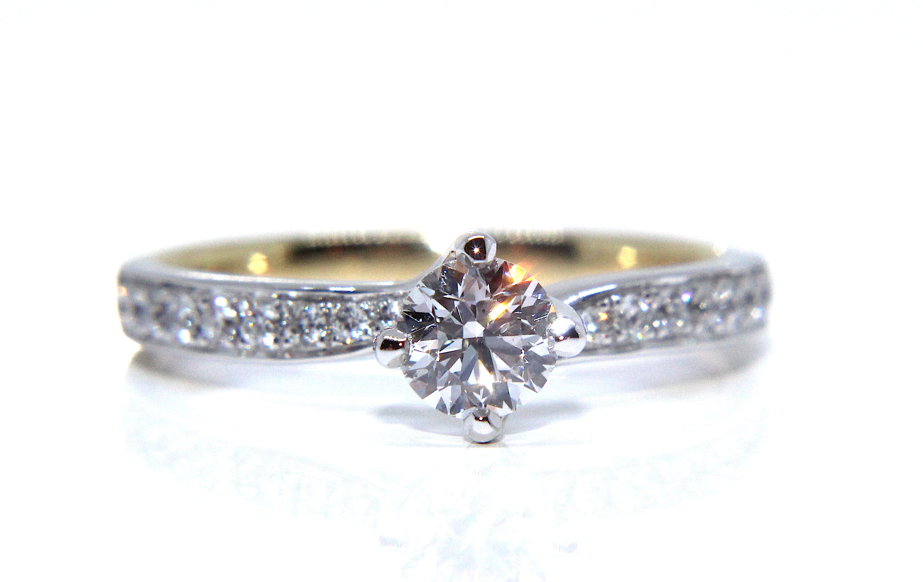 engagement chic horizontal east settings super love rings ring west we brides for trend gallery