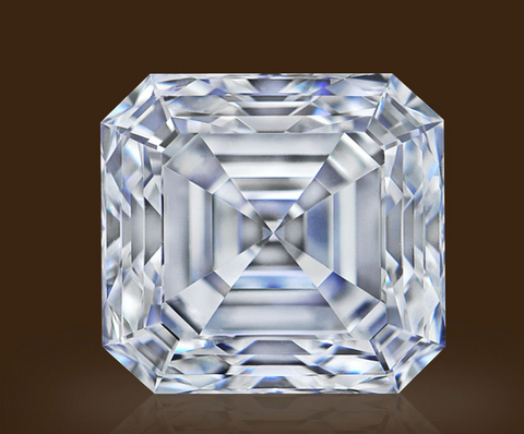 Campbell Jewellers 2.06 E VS1 Asscher Shape GIA Certified Diamond