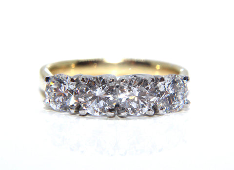18ct Round Brilliant Diamond Eternity Ring 2.00ct Campbell Jewellers