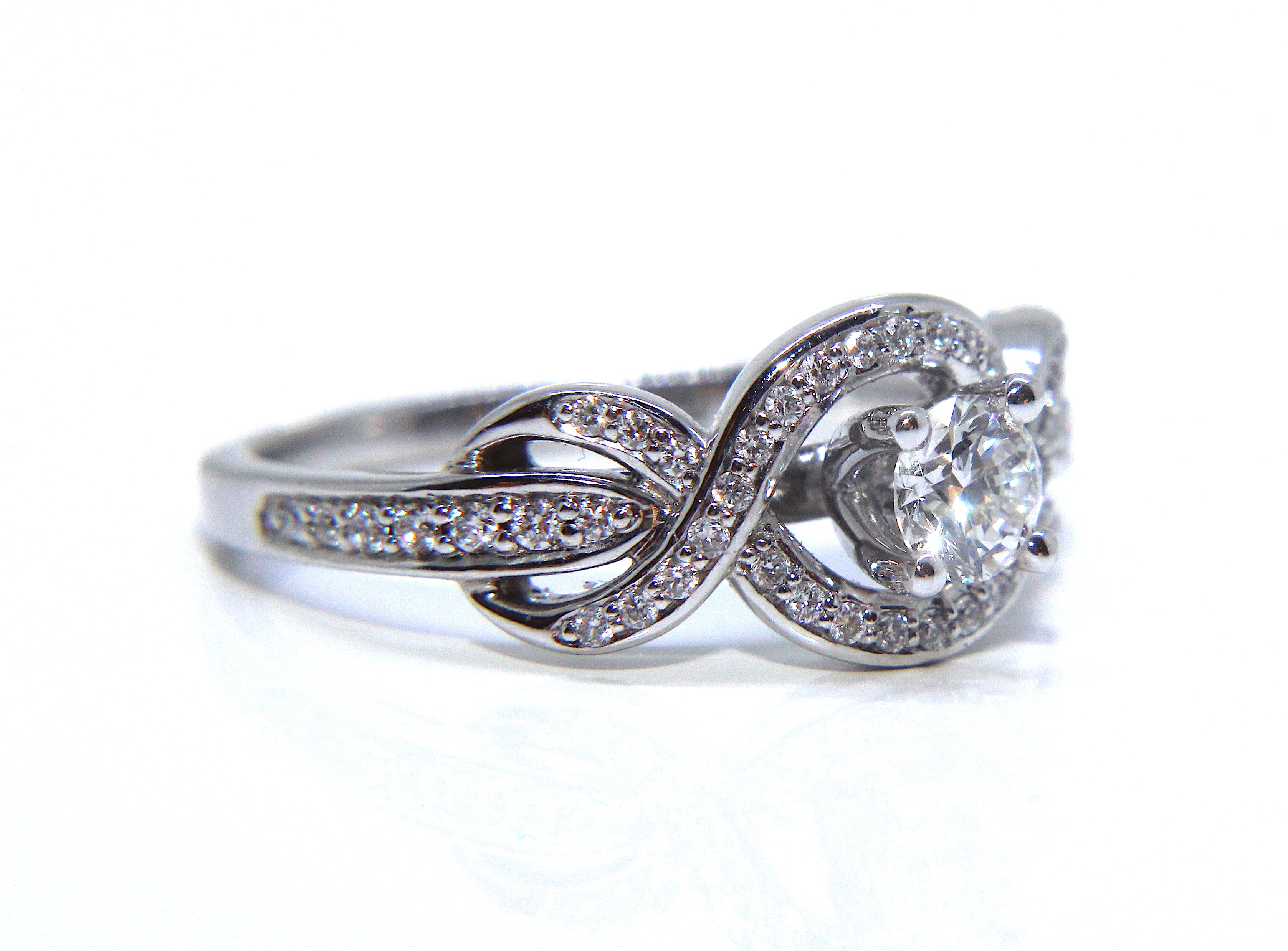 jewelry infinity engagement michael b the collections rings dpt ring