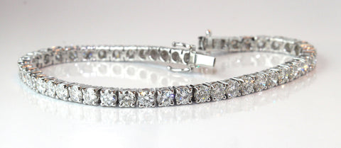 Campbell Fine Diamond Tennis Bracelet 8.52ct - Campbell Jewellers  - 1